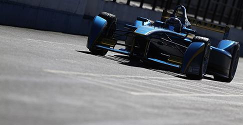 Sebastien Buemi manda otra vez en el test de Formula E