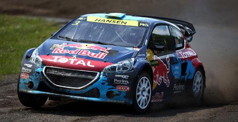 'Topi' Heikkinen se estrena en el Mundial de Rallycross
