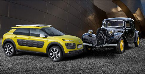 Citroën Traction Avant y C4 Cactus: dos revolucionarios