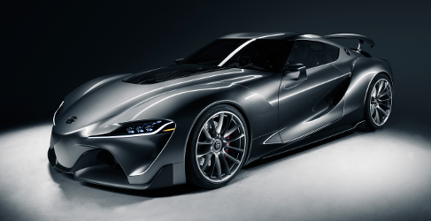 Los impresionantes Toyota FT-1 de Pebble Beach