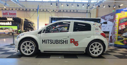 El Mitsubishi Mirage R5 se dejará ver en el Rallyday