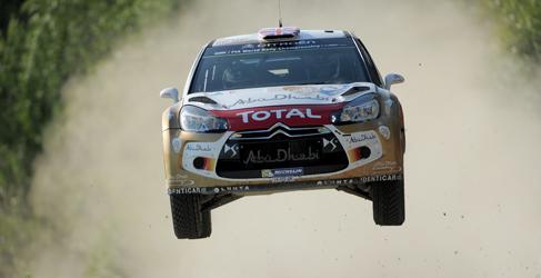 Los Citroën DS3 WRC vuelven al asfalto en Alemania