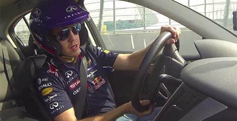 Sochi se estrena con Vettel y un Infiniti Q50