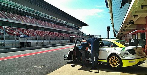 Mat'o Homola prueba con Campos Racing en Barcelona