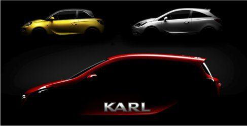 Anticipo del nuevo Karl, el urbanita de Opel
