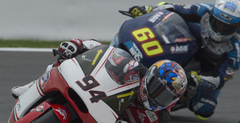 Folger se impone a Julito Simón en el FP2 de Moto2