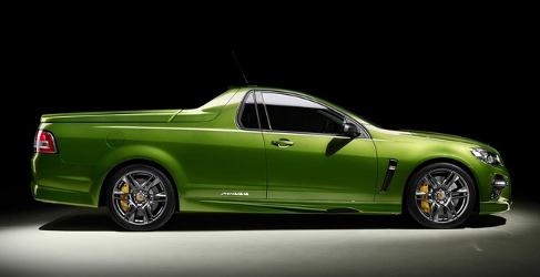 Holden lanza el UTE más salvaje con 576 CV