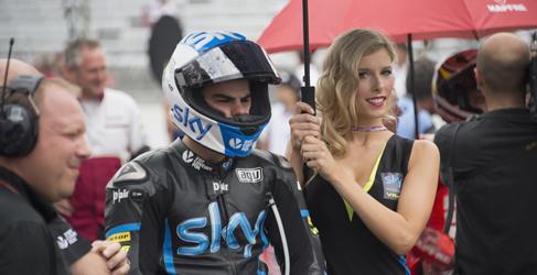 Romano Fenati seguirá en el Sky VR46 en Moto3 2015