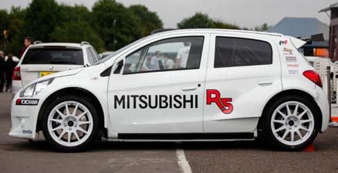 Presentación 'oficial' del Mitsubishi Mirage R5