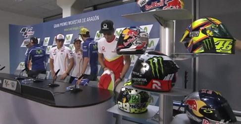 Rueda de prensa del GP de Aragón de MotoGP 2014