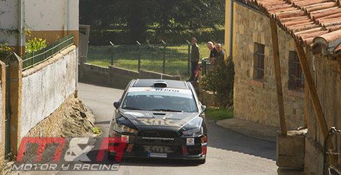 El CERA se pone patas arriba en el Rally de Llanes