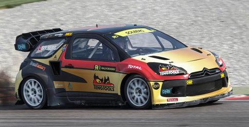 Petter Solberg es el primer campeón del Mundial de Rallycross