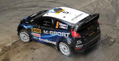 Nueva dosis de asfalto para M-Sport en Francia