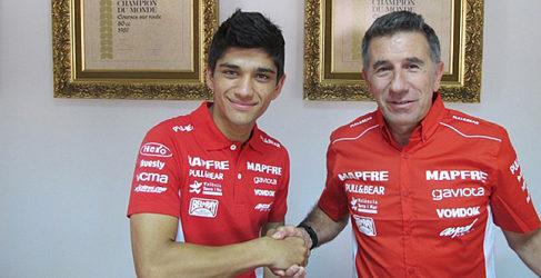Juanfran Guevara y Jorge Martín en Aspar Moto3