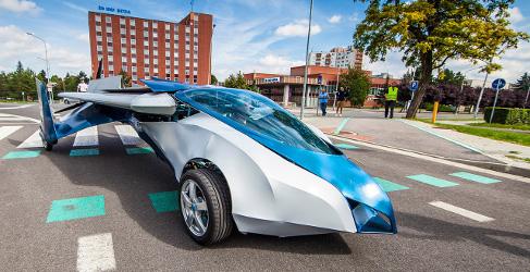 Nace otro coche volador: Aeromobil