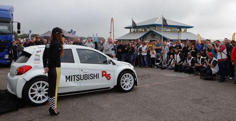 El Mitsubishi Mirage R5 apunta al ERC 2015