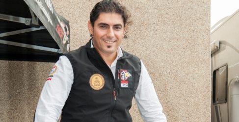 'El Caballero Negro' pide apoyo para su participación en el Dakar 2015
