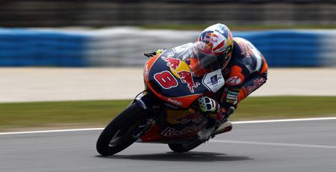 Jack Miller gana en una carrera mágica de Moto3 en Phillip Island