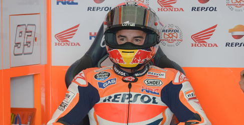 Marc Márquez domina el warm up de MotoGP en Malasia