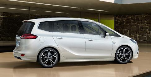 Los próximos Opel Zafira y Meriva serán SUV