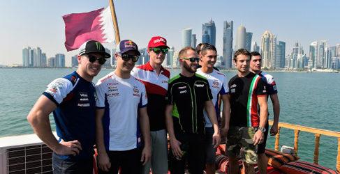 Susto para los pilotos del WSBK en la bahía de Doha