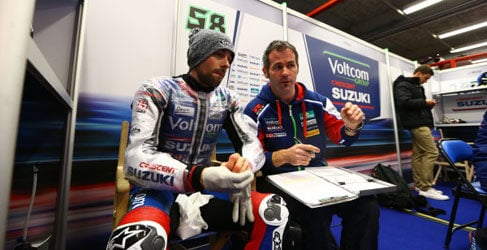 Eugene Laverty lidera el FP2 del WSBK en Doha