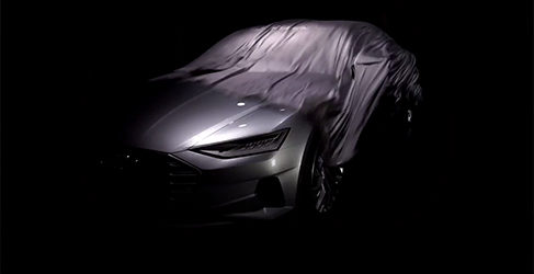 Descubre el primer teaser del nuevo Audi A9