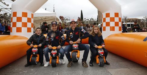 Márquez y Pedrosa inauguran el Repsol Racing Tour