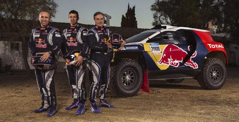 Peugeot presenta los colores de 'guerra' de su 2008 DKR