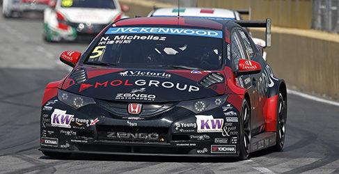 Norbert Michelisz termina el año como mejor piloto Honda