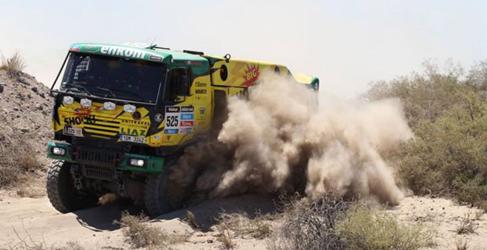 camiones dakar 2015