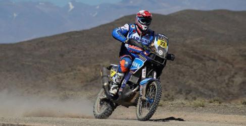 Lista de inscritos del Dakar 2015 en motos