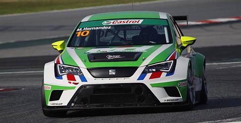 Target Competition alineará tres SEAT en las TC3 Series