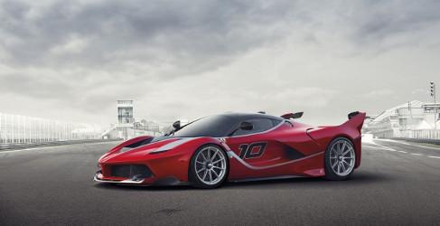 Ferrari FXX K, LaFerrari elevada a obra de arte para circuito