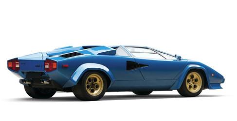Espectaculares imágenes de un Lamborghini Countach LP400S