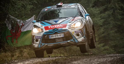 Quentin Giordano cerca de cerrar su programa en WRC2