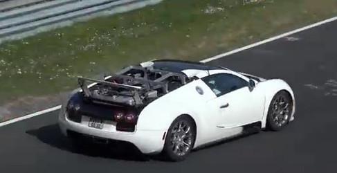 Bugatti se plantea una nueva versión speedster del Veyron