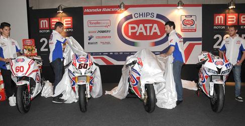 Puesta de largo del Pata Honda 2015 en Verona