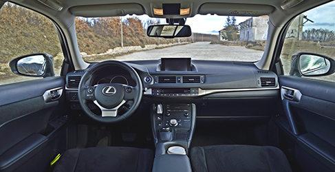 Prueba - Lexus CT200h, premium e híbrido son compatibles