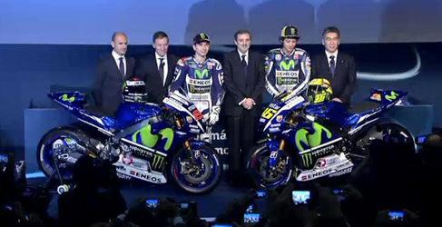 Movistar Yamaha presenta la nueva YZR-M1 en Madrid