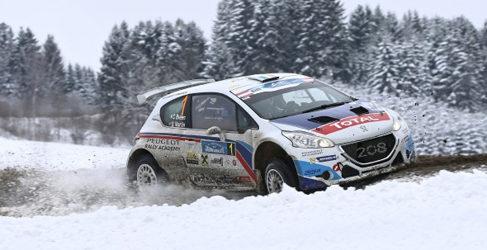 Lista de inscritos del Rally Liepaja del ERC 2015