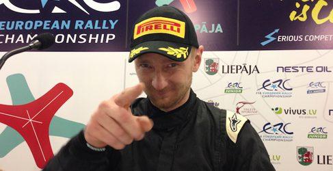 Alexey Lukyanuk domina el Qualifying Stage del Rally Liepaja