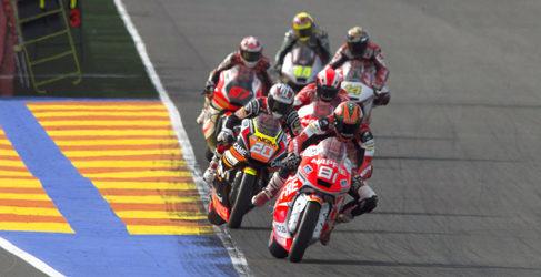 Arranca la pretemporada de Moto2 y Moto3 en Valencia