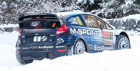 Evans y Tänak a sorprender en el Rally de Suecia
