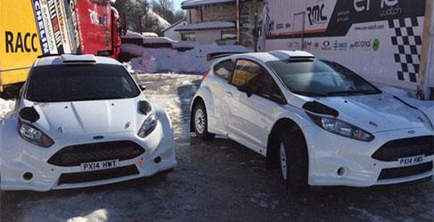 RMC Motorsport ya tiene sus dos nuevos Ford Fiesta R5