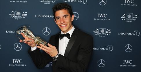 Marc Márquez opta al Laureus al 'Mejor Deportista del Año'