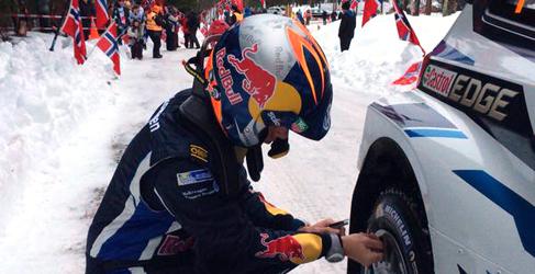 Ogier por delante de Kubica en el shakedown del Rally de Suecia