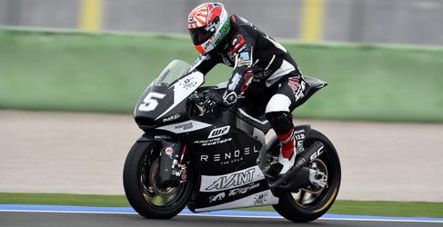 Los pilotos analizan el test de Moto2 y Moto3 en Cheste