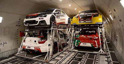 Los coches del WTCC ya están de camino hacia Termas