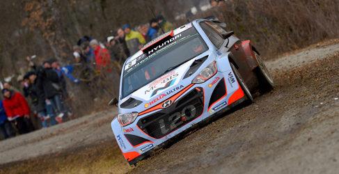 Hyundai estrena evolución de motor en el Rally de México